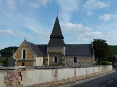 Eglise - English: Menneval (Eure, Fr) église (01)