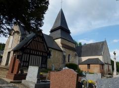 Eglise - English: Menneval (Eure, Fr) église (02)