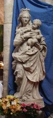 Eglise Saint-Aubin - Français:   Vierge à l\'enfant de l\'église de Pacy-sur-Eure