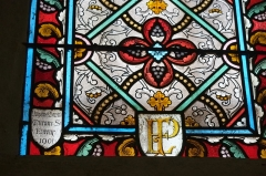 Eglise Saint-Aubin - Deutsch:   Bleiglasfenster in der Kirche Saint-Aubin in Pacy-sur-Eure im Département Eure in Frankreich