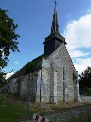 Eglise de Sainte-Opportune - English: Le Plessis-Sainte-Opportune (Eure, Fr) église Sainte-Opportune de Sainte-Opportune-la-Campagne