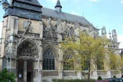 Eglise Notre-Dame-des-Arts - English: Notre-Dame-des-Arts, south façade