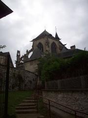 Eglise Notre-Dame-des-Arts - Français:   Vue du chevet