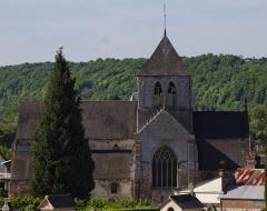 Eglise Saint-Germain - English: The church Saint-Germain in Saint-Germain-Village (Eure, France).