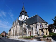Eglise - English: Serquigny (Eure, Fr) église Notre-Dame, extérieur