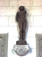 Eglise - English: Serquigny (Eure, Fr) église Notre-Dame, statue d'un martyre