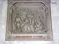 Eglise - English: Serquigny (Eure, Fr) église Notre-Dame, chemin de croix, station 04