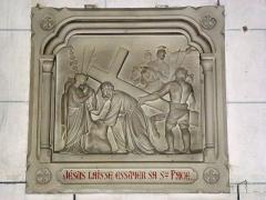 Eglise - English: Serquigny (Eure, Fr) église Notre-Dame, chemin de croix, station 06