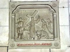 Eglise - English: Serquigny (Eure, Fr) église Notre-Dame, chemin de croix, station 08