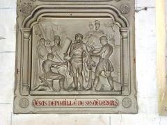 Eglise - English: Serquigny (Eure, Fr) église Notre-Dame, chemin de croix, station 10