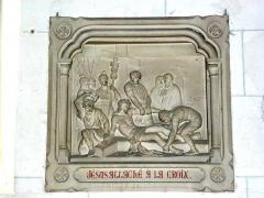 Eglise - English: Serquigny (Eure, Fr) église Notre-Dame, chemin de croix, station 11