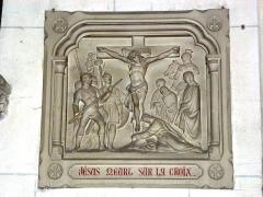 Eglise - English: Serquigny (Eure, Fr) église Notre-Dame, chemin de croix, station 12