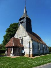 Eglise - English: Tilleul-Dame-Agnès (Eure, Fr) église Saint-Martin
