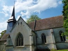 Eglise - English: Le Tilleul-Othon (Eure, Fr) église Saint-Germain