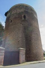 La Tour Grise -  Vue de la Tour Grise de Verneuil-sur-Avre  // Verneuil-sur-Avre - Eure - France