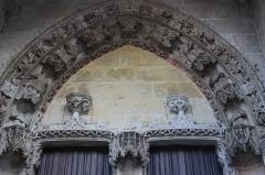 Eglise Notre-Dame, actuellement collégiale - Español: Vernon. Notre-Dame. Portada lateral.