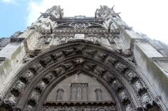 Eglise Notre-Dame, actuellement collégiale - Español: Vernon. Notre-Dame.