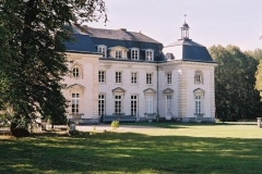 Château du Buisson-de-Mai - English: North view of the Château du Buisson de May, made by the Royal Architect Jacques Denis Antoine from 1781 to 1783