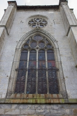 Eglise Notre-Dame -  Vue de l'extérieur de l'église Notre-Dame de Verneuil-sur-Avre  // Verneuil-sur-Avre - Eure - France