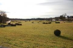 Haras national de Pompadour - English: Arnac-Pompadour - Racetrack in winter
