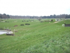 Haras national de Pompadour - English: Global view of cross-country of Pompadour (France)