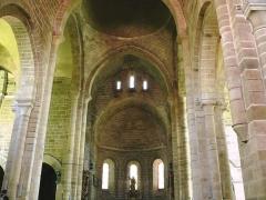 Ancienne abbaye Saint-Etienne - Abbaye d'Aubazine - Nef