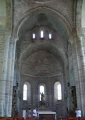 Ancienne abbaye Saint-Etienne - Abbaye d'Aubazine - Choeur et abside