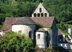 Eglise Notre-Dame ou des Pénitents - Nederlands: Beaulieu-sur-Dordogne Limousin France 2010 Kapel des Pénitents XIIde eeuw