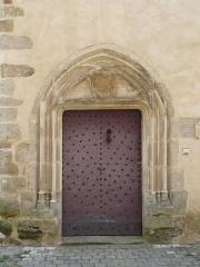 Maison Calary - Français:   La porte de la tour, maison Calary, 12 rue Sainte-Catherine, Beaulieu-sur-Dordogne, Corrèze-France.