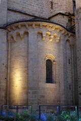Eglise Saint-Martin - Abside de la collégiale Saint-Martin de Brive.