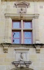Ancien séminaire - Brive-la-Gaillarde - Musée Labenche - Fenêtre au-dessus de la galerie