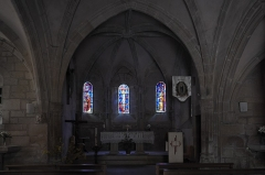 Eglise Saint-Pardoux - Deutsch: Katholische Kirche Saint-Pardoux in Bugeat im Département Corrèze (Nouvelle-Aquitaine/Frankreich), Innenraum