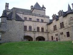 Château de Sedières - English: Castle of Sédières , Clergoux, Corrèze - France