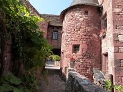 Maison du 16e siècle dite «maison de la Sirène» - Français:   Tour de la maison de la Sirène, située côté cour