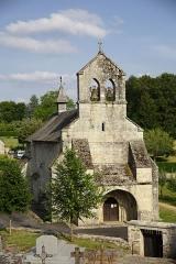Eglise Saint-Maurice, et croix du cimetière - Église de Darnets