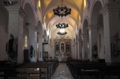 Eglise Saint-Martin - Deutsch: Katholische Kirche Saint-Martin in Donzenac im Département Corrèze (Nouvelle-Aquitaine/Frankreich), Innenraum