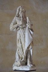 Eglise Saint-Martin - Deutsch: Katholische Kirche Saint-Martin in Donzenac im Département Corrèze (Nouvelle-Aquitaine/Frankreich), Johannes der Täufer