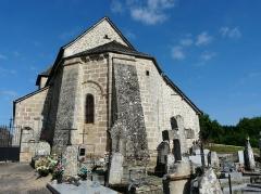 Eglise Notre-Dame - Français:   Le chevet de l\'église Notre-Dame-de-l'Assomption, Hautefage, Corrèze, France.