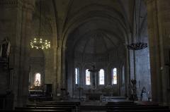 Ancienne abbaye Saint-André - Deutsch: Ehemalige Benediktiner-Abteikirche Saint-André-Saint-Léger in Meymac im Département Corrèze (Nouvelle-Aquitaine/Frankreich), Innenraum