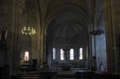 Eglise abbatiale Saint-André et Saint-Léger - Deutsch: Ehemalige Benediktiner-Abteikirche Saint-André-Saint-Léger in Meymac im Département Corrèze (Nouvelle-Aquitaine/Frankreich), Innenraum