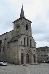 Eglise abbatiale Saint-André et Saint-Léger - Deutsch: Ehemalige Benediktiner-Abteikirche Saint-André-Saint-Léger in Meymac im Département Corrèze (Nouvelle-Aquitaine/Frankreich)