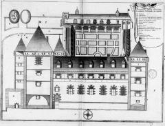 Ancien prieuré Saint-Michel des Anges - French archaeologist and historian