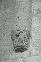 Ancien prieuré Saint-Michel des Anges - Deutsch: Ehemalige Prioratskirche Saint-Michel-des-Anges in Saint-Angel im Département Corrèze (Nouvelle-Aquitaine/Frankreich), Konsole