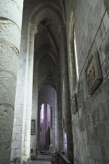 Ancien prieuré Saint-Michel des Anges - Deutsch: Ehemalige Prioratskirche Saint-Michel-des-Anges in Saint-Angel im Département Corrèze (Nouvelle-Aquitaine/Frankreich), Innenraum