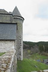 Ancien prieuré Saint-Michel des Anges - Deutsch: Ehemaliges Priorat Saint-Michel-des-Anges in Saint-Angel im Département Corrèze (Nouvelle-Aquitaine/Frankreich)