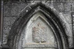 Ancien prieuré Saint-Michel des Anges - Deutsch: Ehemalige Prioratskirche Saint-Michel-des-Anges in Saint-Angel im Département Corrèze (Nouvelle-Aquitaine/Frankreich)