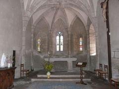 Eglise Saint-Cyr-Sainte-Julitte - Français:   Le chœur de l\'église Saint-Cyr-Sainte-Julitte, Saint-Cirgues-la-Loutre, Corrèze, France.
