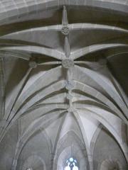 Eglise Saint-Cyr-Sainte-Julitte - Français:   Le plafond de l\'église Saint-Cyr-Sainte-Julitte, Saint-Cirgues-la-Loutre, Corrèze, France.