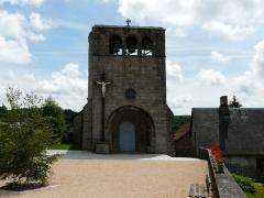 Eglise Saint-Frédulphe - Français:   L\'église Saint-Frédulphe, Saint-Fréjoux, Corrèze, France.