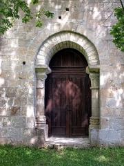 Chapelle de Glény -  Servières-le-Château, Corrèze (Limousin) - Le portail de la chapelle de Glény